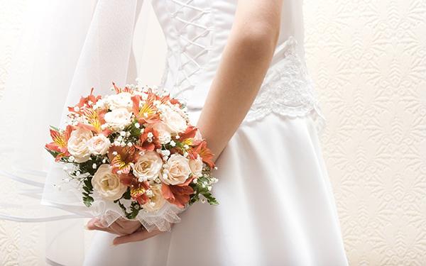 I colori del bouquet da sposa