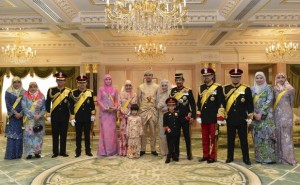 matrimonio figlio sultano brunei